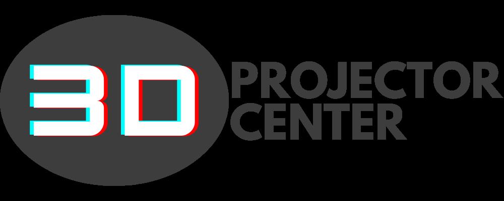 3d projector center logo